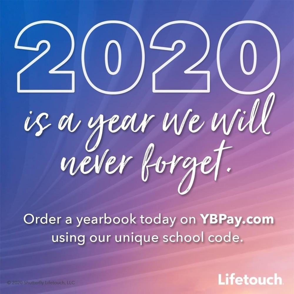 Yearbook Orders are due June 1