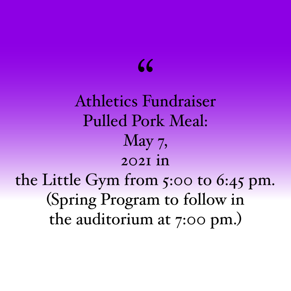 Athletic Fundraiser